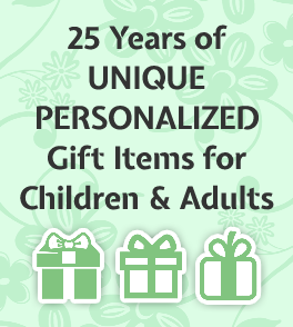 Handcrafters unique personalized gifts for children adults in 25 years of unique personalized gift items for children and adults negle Choice Image