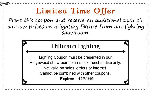 Hillmann Electric Amp Lighting Ridgewood New Jersey Lighting Showroom
