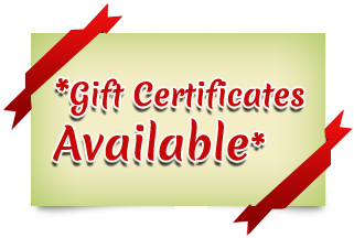 Toy Gift Certificates