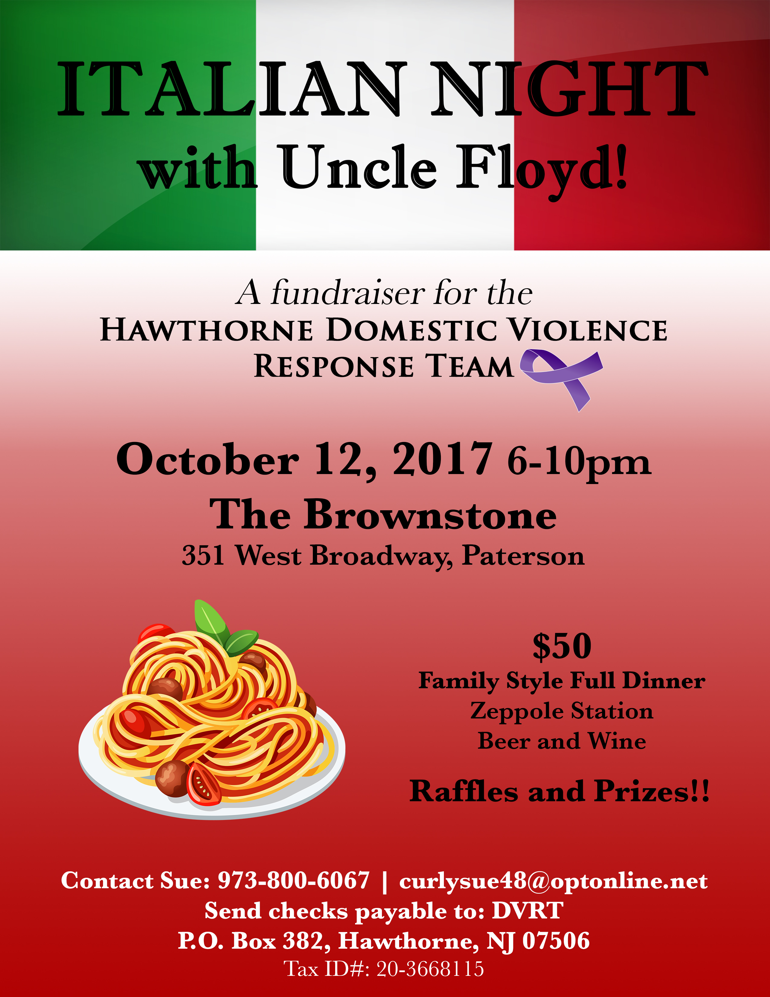 italian night with uncle floyd