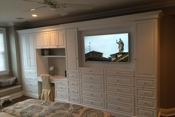 ... Existing Entertainment Center For New Flat Screen TVu0027s, While Providing  Perfect Solutions For All Your Other Northern, NJ Custom Cabinetry Projects.