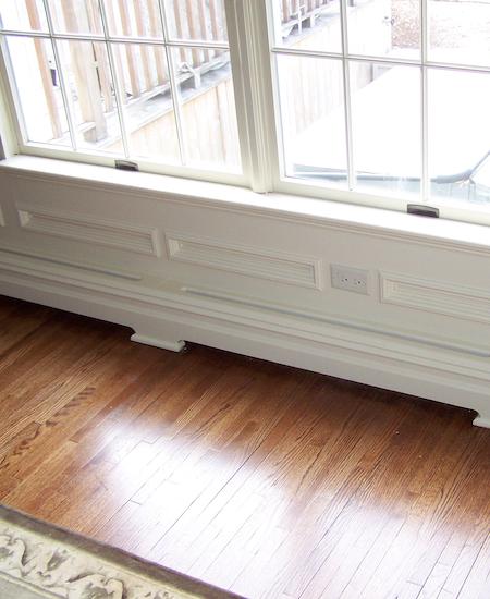 Wood Baseboard Heat Covers Bergen County Nj Custom
